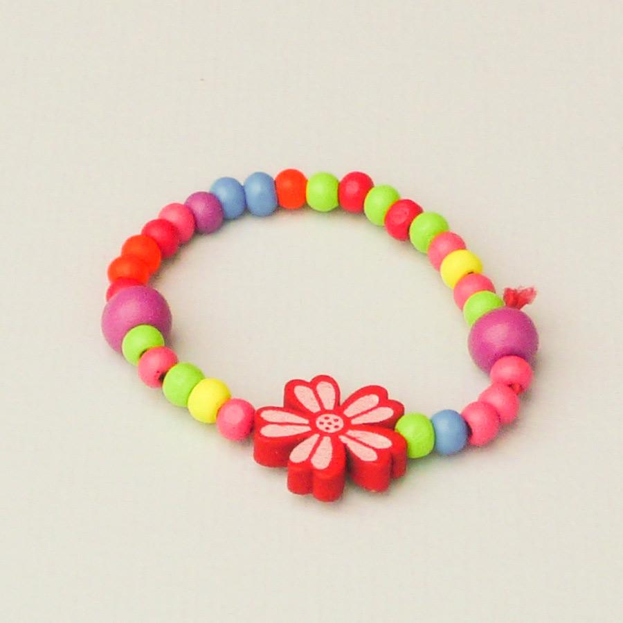 set ketting en armband bloem animare trendstyle